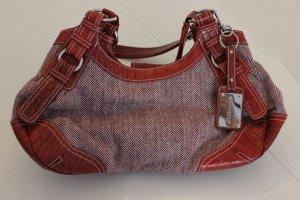 neue Handtasche in schönem rot