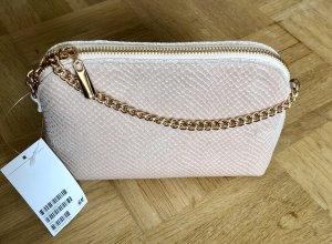 Neue Handtasche von h&m in Creme-Gold