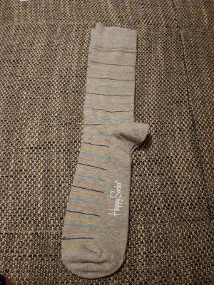 Happy socks Legwarmers light grey