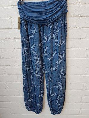 Pantalone alla turca blu