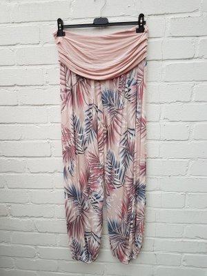 Pantalón estilo Harem rosa-rosa claro