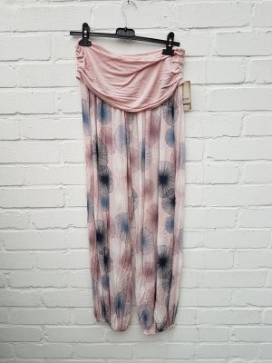 Pantalón estilo Harem rosa claro