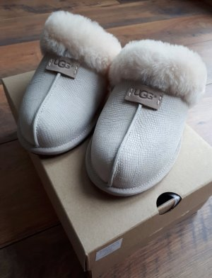 UGG House Boots silver-colored