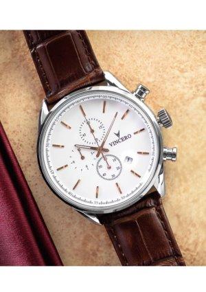 NEUE Herren Armbanduhr mit Lederarmband