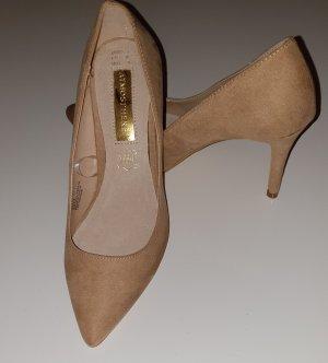 neue High Heels beige Gr. 36