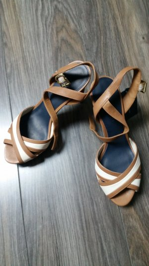 Tommy Hilfiger High-Heeled Sandals light brown-gold-colored