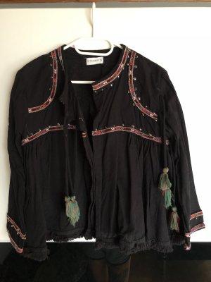 Pull & Bear Oversized Jacket black