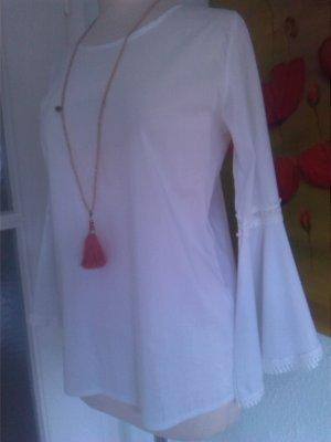 Tunique-blouse blanc