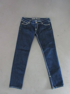 Guess Tube Jeans dark blue cotton