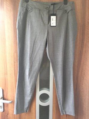 Seductive Woolen Trousers grey