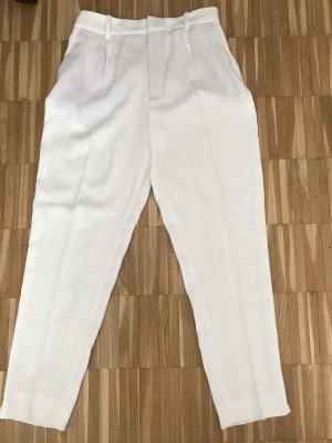 Zara Peg Top Trousers white