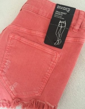 Neue Hotpants! Coral! 36/S