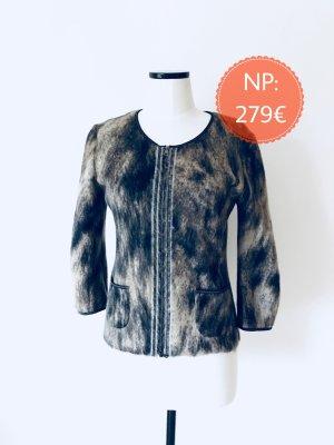 Neue Jacke von Marc Cain in braun/schwarz Alpaka