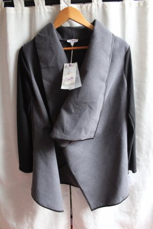 Tkmaxx Wraparound Jacket black-slate-gray