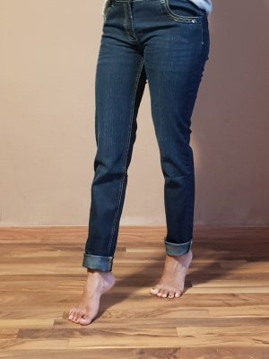 Boyfriend Jeans dark blue