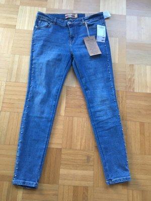 Drainpipe Trousers cornflower blue