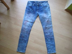 Blue Monkey Slim Jeans steel blue cotton