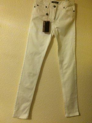 Neue Jeans in Weiß von Roberto Cavalli (It. Gr. 40)