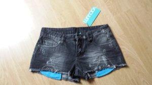 Denim Shorts grey