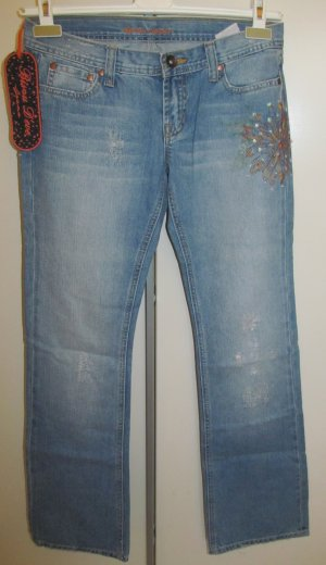 Bisou Bisou Stretch Jeans azure