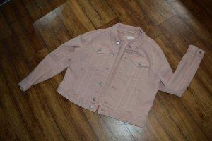 Neue Jeansjacke herbstlich in rose Gr. 44 von H&M