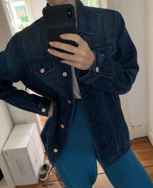 Neue Jeansjacke J Brand Denim-Jacke mit Knopfleiste Jbrand