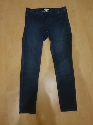 Hennes Collection by H&M Jeggings dark blue
