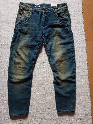 Rich & Royal Jeans a 7/8 blu Cotone
