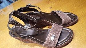 Neue Keilabsatz Sandalen, Wedges von Esprit