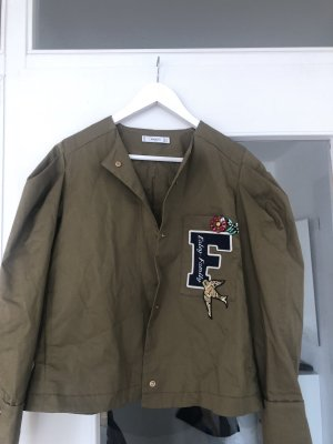 Neue Khaki Jacke