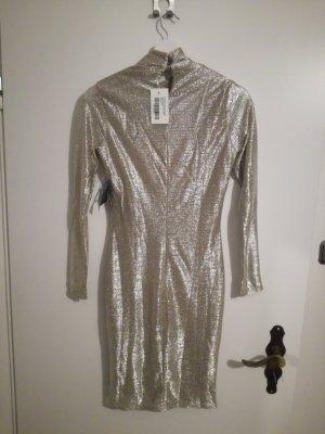 Neue kleid mit Etikett/Silber/Große M