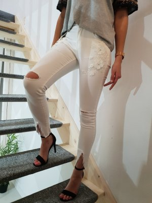 Spijkerbroek wit
