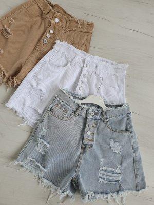 ☆NEUE KOLECTION☆Jeans Shorts mit Hohem bund