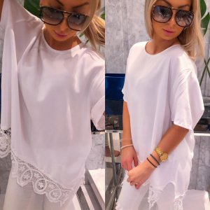 Oversized Blouse white