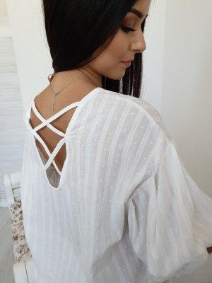 Blusa ancha blanco