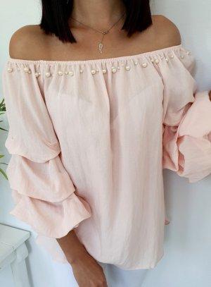 Blusa ancha rosa