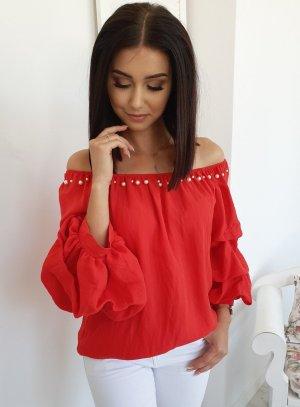 Carmen Blouse red