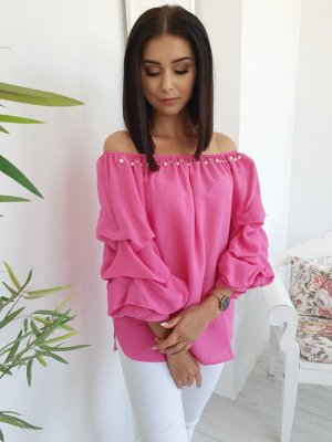 Carmen Blouse pink