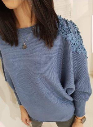 Oversized Sweater blue