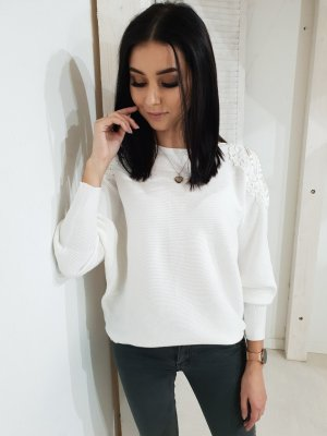 Oversized Sweater white
