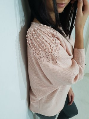 Oversized Sweater dusky pink-pink