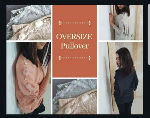 Oversized Sweater anthracite