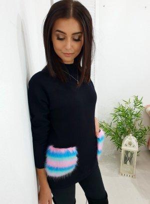 Maglione lungo nero