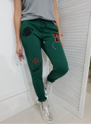 Trackies forest green