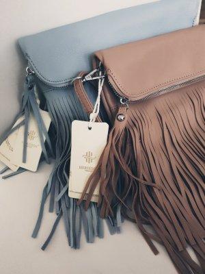Fringed Bag light grey