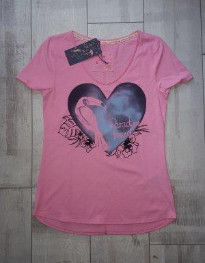 NEUE Kollektion, schickes Shirt von Lieblingsstück rosa, Gr. S, Tucan