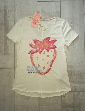 NEUE Kollektion, süßes Shirt von Lieblingsstück rosa, Gr. S, Erdbeere
