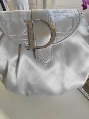 Dior Mini Bag silver-colored