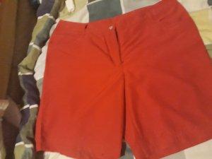 Shorts rosso-rosso mattone