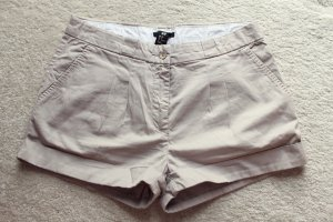 H&M Hot Pants beige-oatmeal